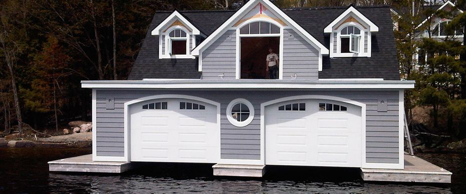 Boathouse Doors